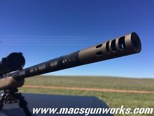 6.5mm Creedmoor Long Range High Performance Muzzle Brake 5/8x24 | CUSTOMIZE IT