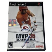 MVP 06 NCAA Baseball (Sony PlayStation 2, 2006) Complete w/Manual CIB