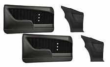 Sport XR Molded Door & Quarter Panel Set - Black - for 1969 Camaro by TMI