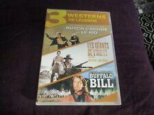 """COFFRET 3 DVD """"BUTCH CASSIDY ET LE KID / LES GEANTS DE L'OUEST / BUFFALO BILL"""""""