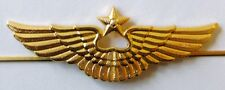 Russian Military Aviation AIR FORCE Officer Visor Cap Hat Badge Pin New Type
