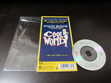 David Bowie Real Cool World Japan 3 inch Mini CD Single 1992 Glam Nile Rodgers
