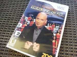 DEAL OR NO DEAL Nintendo Wii Video Game Complete TESTED & WORKS