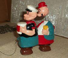 Vintage Marx Hard Plastic Popeye & Wimpy Ramp Walker Gentle Use