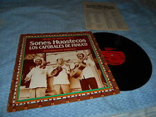 Music Of Mexico Vol 2 Sones Huastecos Rec In Tampico (LP) EX/VG++ w insert