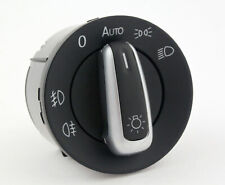 Interruptor Mando Luces Cromado Volkswagen VW Golf 5V 6VI Passat B6 Scirocco aut