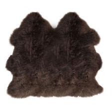 Lambland Luxury Extra Large Dark Brown Genuine Real Sheepskin Rug Hide Double