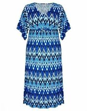Geometric Viscose Maxi Dresses for Women
