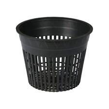 "96pc DL Wholesale 6"" Net Pots GROW1 Strongest & WIDE Top Lip SAVE $ W/ BAY HYDRO"