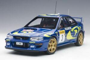AUTOart 1:18 89790 1997 Subaru Impreza WRC Rally Monte Carlo (C. McRae) - NEU!