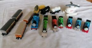 ERTL Thomas and Friends Bundle Lot of Trains plus Harold Hellicopter