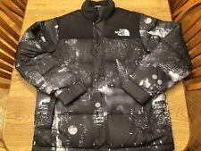 The North Face Nuptse 550 Fill Supreme Rare Night Skyline Jacket Sz. L