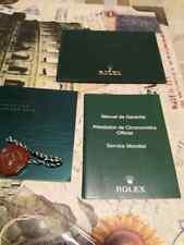 Corredo Rolex submariner 116610lv originale anno 2013 set booklet genuine
