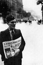 """WW2 - Vente du journal collaborateur """"Le Franciste"""""""