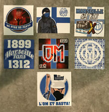 ACAB 1312 Lot autocollant stickers ultras indep om no cu84 mtp fanatic marseille