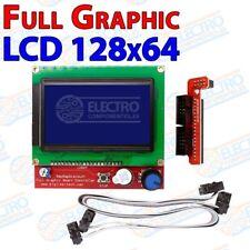 Display Full Graphic LCD12864 impresora 3D Tarjeta SD RAMPS 1.4 128x64 - Arduino