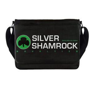 Silver Shamrock Novelties Messenger Bag Halloween Movie Horror Man Cave Retro