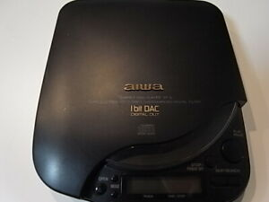 Aiwa XP-6 XP6 Portable CD Player Black DSL Made in Japan MINT Condition UK SELL