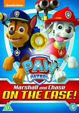 PAW PATROL MARSHALL AND CHASE ON THE CASE  BRAND NEW SEALED GENUINE UK DVD