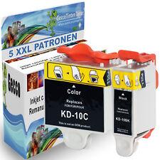 5x Tintenpatronen Topserie für Kodak 10 XXL Easyshare 5250 3200 5500 5100