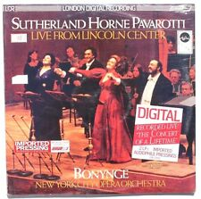 Sealed BUY BONYNGE Sutherland Horne Pavarotti NEW YORK CITY OPERA LP