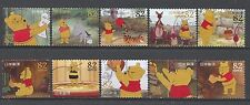 ˳˳ ҉ ˳˳G85 Japan Greeting Disney Winnie the Pooh 82 yen 2014 used complete 日本