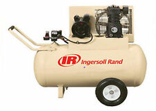 Electric Portable Air Compressor - 2 HP - 115 Volts - 30 Gallons - Commercial