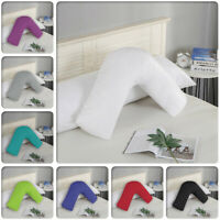 1000TC Ultra Soft V shape Pillowcase Cover 78 x 36cm