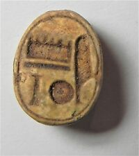 ZURQIEH -AF1898- ANCIENT EGYPT ,  NEW KINGDOM . STEATITE SCARAB. 1400  B.C