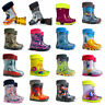 BOYS GIRLS KIDS CHILDREN WELLINGTON BOOTS WELLIES RAINY BOOTS UK SIZE 4 -2.5