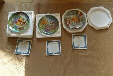 Bradford Exchange Disney Winnie the Pooh Plate Set 5th Issue 1283A 586A 765A