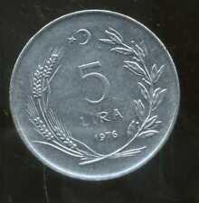 TURQUIE   5 lira  1976  ( bis )