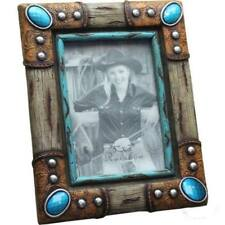 Western Decor Lodge Cabin Western Turquoise Picture Frame 5 X 7
