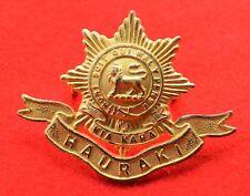 New Zealand. Hauraki Regiment Genuine Officer's Cap Badge