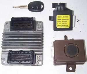 Steuergerät SATZ Chevrolet Daewoo Kalos 1,4l 61KW F14S3 96394312 XAAS ECU ECM
