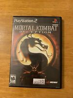 Mortal Kombat: Deception (PlayStation 2, 2004) Complete Black Label - PS2