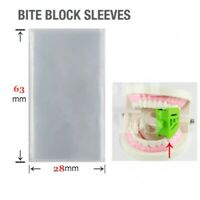 1000pcs Dental Panorama Disposable Bite Block Sleeves cover 63*28/30mm