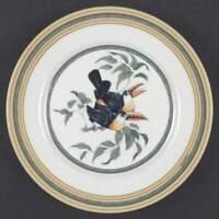 Hermes TOUCANS (BIRDS) Salad Plate 228175