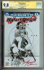 HARLEY QUINN #1 SS CGC 9.8 COMICS TO ASTONISH SKETCH  VARIANT AUTO X2 CONNER