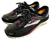 Brooks Glycerin 15 Running Shoes Womens Size Us 9 EUR 40.5 Black Pink Sneakers