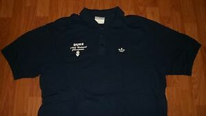 ADIDAS mens DUKE BLUE DEVILS 1992 Nat'l Champions Polo Shirt NCAA NC Basketball