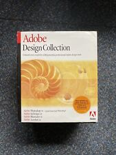 2002 Adobe Design Collection Complete. - Used - Mint Media Boxed Opened Mac