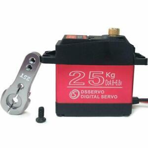 STEERING SERVO UPGRADE DIGITAL METAL GEAR WATERPROOF TRAXXAS 1/10 MAXX HOSS RC