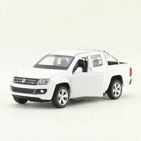 VW Volkswagen Amarok 2010-2016 Doppelkabine Pickup Truck 1//43 Matt-schwarz Limit