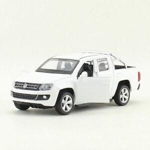 VW Amarok Pickup Truck 1:46 Scale Model Car Diecast Toy Vehcile Kids Gift White