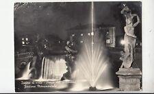 BF32809 torino di notte parco del valentino fontana italy front/back image