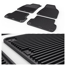 All Weather Rubber Floor Mats For Audi A4 S4 RS4 B6 B7 02 03 04 05 06 07 08