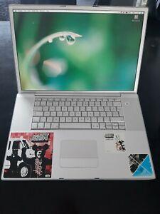 "Apple PowerBook G4 17"" Laptop 1.33ghz 2GB Ram 80GB Superdrive, Mac osx 10.4.11"