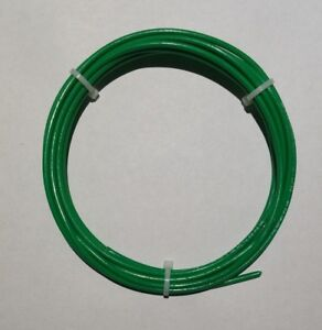 14 AWG, Green Mil-Spec Wire M22759/11(PTFE) Stranded Silver Plated Copper, 10 ft