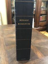 Early Printing 1588 Missale Romanum Red and Black Woodcuts